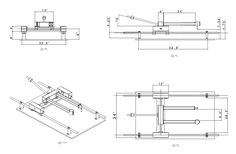 Rather than starting from scratch, someone might have some plans for a duplicator/tracer/copier using a router setup, it needs to trace about 48 long, Cnc Router, Router Woodworking, Woodworking Projects Diy, Wood Carving Tools, Wood Carving Patterns, Bed Plans, Table Plans, Using A Router, Homemade Tools