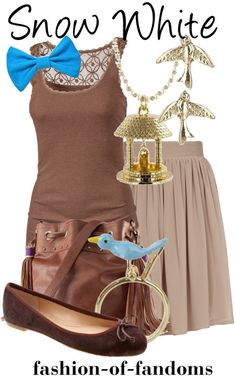 Modern Fashion Style - Snow White maid dress