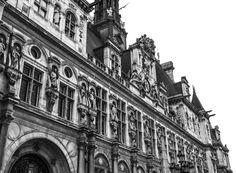 Stone carvings in Paris, France