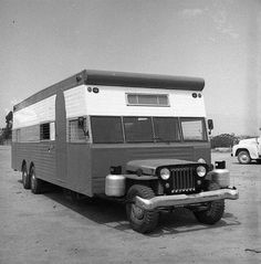 Vintage Jeep Camper