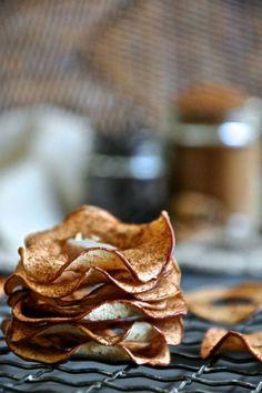 25x Snack Attack! Appelchips uit de oven | ELLE Eten