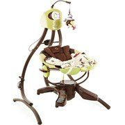 Fisher Price - Cradle Swing, Zen Collection Sister has this and she loves it! Baby Cradle Swing, Baby Swings, My Baby Girl, Baby Love, Baby Baby, Zen Style, Baby Boy Photos, Wishes For Baby, Soft And Gentle