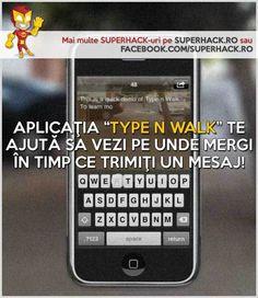 Poţi trimite un mesaj în timp ce mergi, foarte uşor! - SuperHack.ro