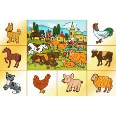 Farm Animals, Animals And Pets, Preschool Crafts, Winnie The Pooh, Homeschool, Disney Characters, Fictional Characters, Projects To Try, Teaching