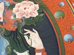 A detail of Chenrezi
