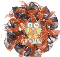 Brown Owl- Welcome Fall. 40.00