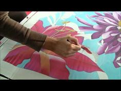 Silk Painting 3 - YouTube