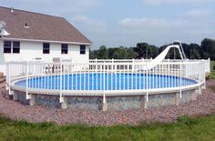 Depending on the height of your pool, and existing fences in place, your aboveground pool may be required to have top rail fencing...