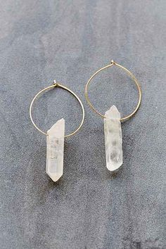 Cosmic Dreams Crystal Hoop Earring