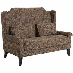 Headington Loveseat - Cinnamon - Comes in 4 different fabrics - Need to confirm seat height to make sure it would work at a dining table