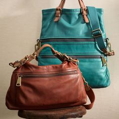 I am head over heels with Fossil right now and the Explorer range is really beautiful. Buttery soft leather in Peacock Blue, Honey, Russet Brown and Dusty Rose. There are fabric ones too and purses. Prices from £38-£208. Did I mention there are 5 styles. Swoon.