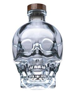 crystal skull head vodka, still have the bottle next to the TV. LoL  I guess it was pretty ok..