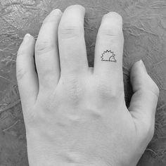 10 tatouages hérissons miniatures temporaires / tatouages