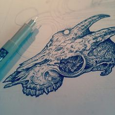 beautiful pen and ink work by Richey Beckett