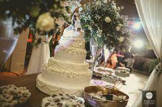 Decoração de casamento | Mesa de doces | Mesa do Bolo | Bolo de casamento | Wedding cake | Doces de casamento