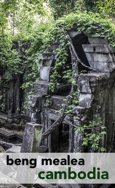 There's a good chance you won't even see another tourist at Beng Mealea. Explore this massive jungle temple in Cambodia, where nature is now in control!