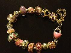 charm bracelet woman charm bracelet by apparel1977 on Etsy, $35.00
