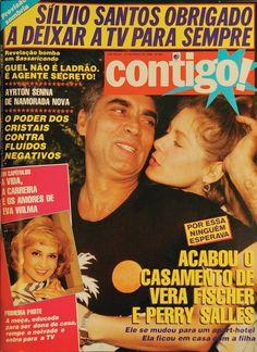 ACABOU! Chega ao fim o casamento de Vera Fisher e Perry Salles. E, Silvio Santos é obrigado a deixar a Tv para sempre. Essas e outras notícias QUENTÍSSIMAS você encontra na edição 551 da Contigo!.