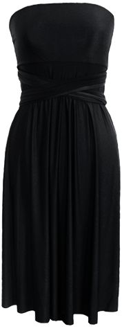 This is the ULTIMATE little black dress!  The S Dress.      http://www.theinfinitecollection.com/s_black.html