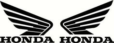Need honda decals?Trying to buy honda decals online can be difficult to find. We got the best list for h Truck Window Stickers, Car Decals, Bumper Stickers, Vinyl Decals, Motorcycle Tank, Motorcycle Types, Tuning Honda, Honda Wing, Honda Generator