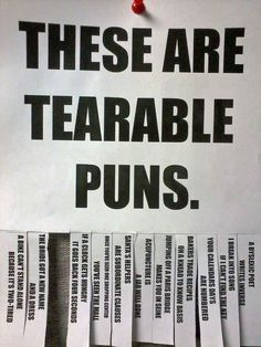Everyone likes a pun.