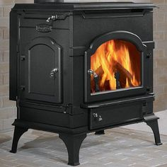 Majestic Dutchwest Non-Catalytic Wood Stove - All you need to do is gently goad the bearded and would-like-to-be-bearded men around you by reminding them that a true test of manliness is splitting...