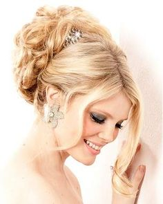 Updo Bridesmaid Hairstyles