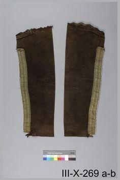 leggings Danadian Museum of History OBJECT NUMBER III-X-269 a-b