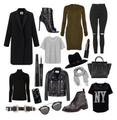 """""""Winter must have pieces !"""" by batya-touboul on Polyvore featuring Aéropostale, rag & bone, maurices, Majestic Filatures, Yves Saint Laurent, Acne Studios, Topshop, NARS Cosmetics, B-Low the Belt and Dolce&Gabbana"""