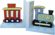 Train Bookends | Jack and Jill Boutique