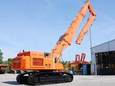 Demolition excavator Hitachi ZX470LCH-3 + 25m. Sale of demolition ...