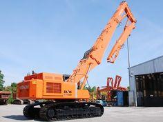 Demolition excavator Hitachi ZX470LCH-3 + 25m. Sale of demolition ...