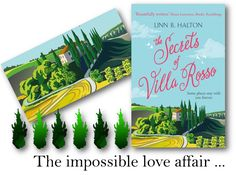 Cover Reveal/Excerpt | The Secrets of Villa Rosso by Linn B Halton