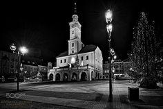 Świąteczny Rynek. Gliwice. Polska. - null
