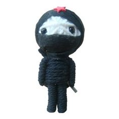 String Voodoo Doll Keychain Ninja Classic Doll Series From Thailand Free Shipping
