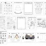 Printable Wedding Activity Book A5 Children Kids PDF Custom Personalised