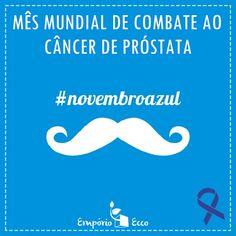 O Novembro Azul é uma iniciativa que busca alertar os homens sobre a importância do exame de detecção do câncer de próstata. Segundo o Instituto Nacional de Câncer, o INCA, este é o sexto tipo de tumor mais comum no mundo e o mais predominante entre o sexo masculino, desconsiderando tumores de pele. Saiba mais!