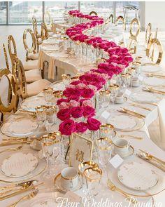 "#ForemostWeddingPage 💍 on Instagram: ""A Curvy Setup - Lush, Luxury, and Chic! _ Planning:@fleurweddingstoronto Photo Credit: @agistudio Location @globeandmailcentre _…"""