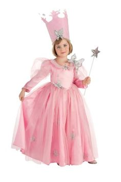 Wizard Of Oz, Super Deluxe Glinda Dress And Crown Costume Rubie's Costume Co,http://www.amazon.com/dp/B003KN3PQU/ref=cm_sw_r_pi_dp_flPnsb0F4MB66W16