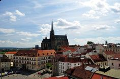 Brno, Czech Republic.  Brno is the Czech Republic's second city. The traditional capital of the Moravia region dispenses stately religion in its 14th century Petrov Cathedral, and contemporary flair at the House of Arts, where exhibitions have covered the likes of Czech artist Milan Houser.