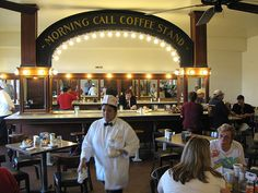 Morning Call - Metairie, LA. Great beignet place