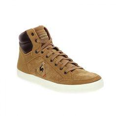 6c0d84407f40 Baskets montantes homme camel LE COQ SPORTIF PORTALET - Bessec -chaussures.com