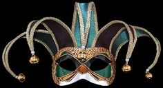 Colombina Jolly Velvet - Green - Venetian Jester Eye Mask Venetian Masks, Masquerade Masks and Colored Cloaks from VenetianMaskSociety.com #Venetian #Masquerade #Masks #Cloaks