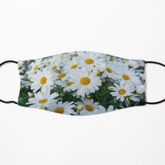 Mask For Kids, Cotton Tote Bags, White Flowers, Scandinavian, Face Masks, Cool Designs, Art Prints, Printed, Awesome