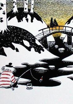Moomin Postcards New Set of 6 plus 1 Karto Finland Moomin Wallpaper, Moomin Valley, Tove Jansson, Children's Book Illustration, Finland, Fantasy Art, Fairy Tales, Drawings, Artist