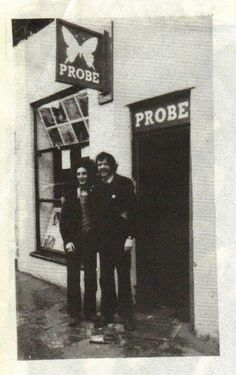 The first Probe Records on Clarence Street, Liverpool.