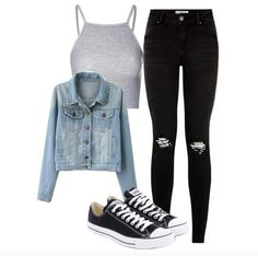 style women& outfit - complete spring outfit 2018 # Spring Outfit Outfits 2019 Outfits casual Outfits for moms Outfits for school Outfits for teen girls Outfits for work Outfits with hats Outfits women Style Outfits, Komplette Outfits, Teen Fashion Outfits, Trendy Outfits, Fashion Dresses, Club Outfits, Hipster Outfits, Jean Outfits, Cute Casual Outfits For Teens