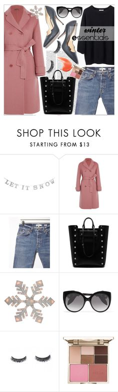 """Winter Essentials"" by fangirl-preferences ❤ liked on Polyvore featuring Oris, Bottega Veneta, RE/DONE, Paul Andrew, Mulberry, Alexander McQueen and Stila"