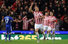 @Stoke Mourinho absent as Arnautović condemns Blues to defeat. The midfielder scored in the 53rd minute to give Mark Hughes's men a narrow victory and consign the visitors to their seventh defeat of the Premier League season #9ine
