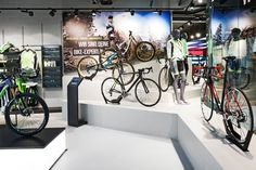 Rose Biketown Store by Blocher Blocher Partners at MONA Mall, Munich – Germany » Retail Design. Visit City Lighting Products! https://www.linkedin.com/company/city-lighting-products